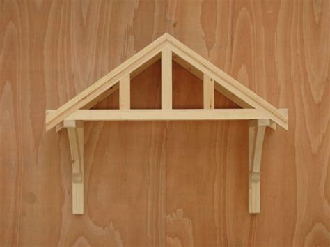 timber door canopies traditional cottage canopies front