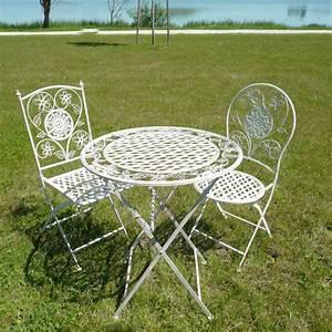 Salon De Jardin En Fer : salon de jardin fer fauteuil de jardin maison boncolac ~ Teatrodelosmanantiales.com Idées de Décoration