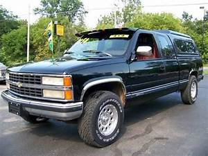 1993 93 Chevy Silverado K1500 4x4 Diesel Look  Only 131k