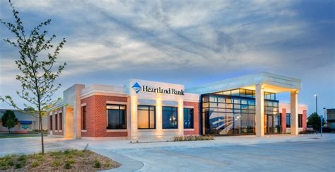 The largest banks in nebraska with most branches are: Heartland Bank | Wilkins ADP