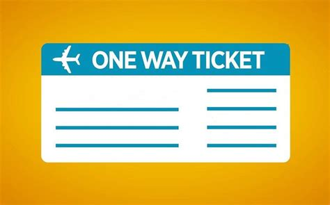 bid on airline tickets flying on a one way ticket how to avoid problems