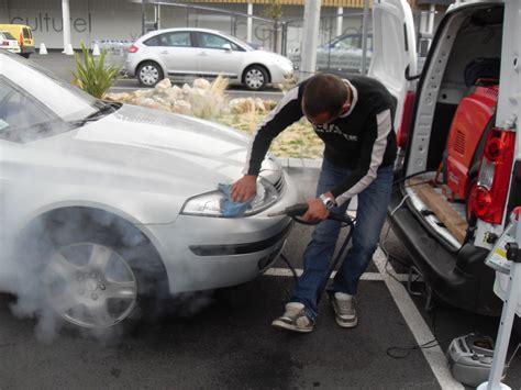 nettoyage siege auto tissu vapeur lavage interieur et exterieur le lavage auto à la vapeur