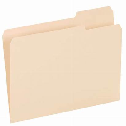 Folder Clipart Manila Blank Document Case Transparent