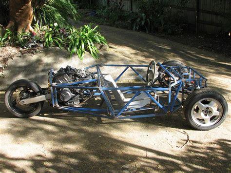Reverse Trike Motorcycle Frame