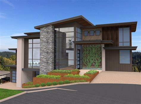 Plan 85152MS: Exclusive and Unique Modern House Plan
