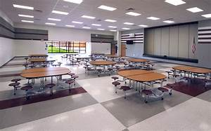 Cafeteria and multi purpose space in a middle school ...