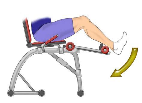 la chaise musculation pensez aux ischios les muscles magiques