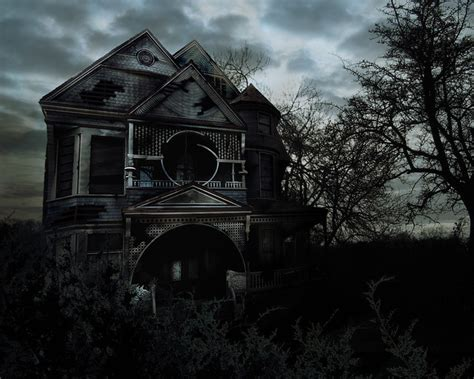 haunted house ho creato questimmagine  photoshop cs