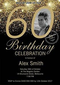 Free 50th Birthday Invitation Templates Printable Surprise 60th Birthday Invitation 60th Birthday Invite