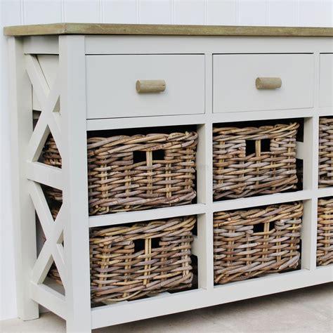storage shelf with baskets 9 drawer basket storage unit bliss and bloom ltd