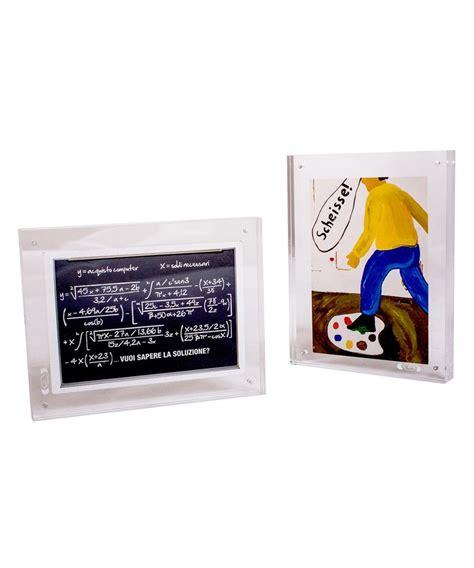 Cornice Da Tavolo by Cornice 22x11 Portafoto Da Tavolo A Magnete In Plexiglass