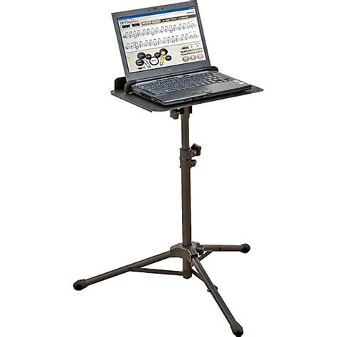 laptop stand for roland ss pc1 adjustable laptop stand musician s friend