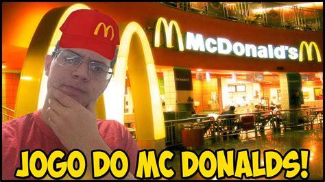 JOGO DO MC DONALDS - YouTube