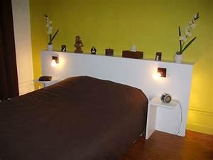 Tete De Lit Design : fabriquer tete de lit originale moderne accueil design et mobilier ~ Teatrodelosmanantiales.com Idées de Décoration