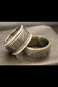 Country Style Wedding Bands