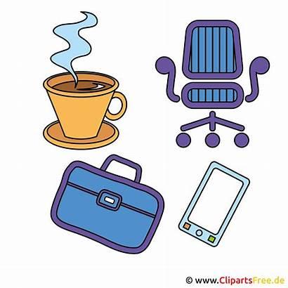 Office Clip Clipart Bureau Utklipp Icon Clipartsfree