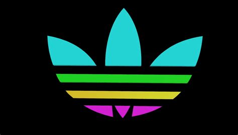adidas color logo adidas color domestika
