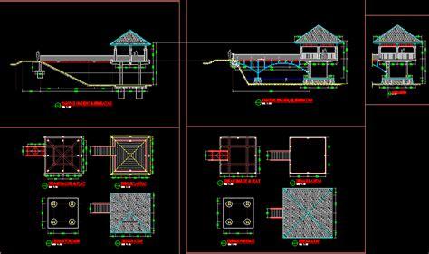 gazebo dwg block  autocad designs cad