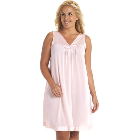 vanity fair s sleeveless nightgown clothing s clothing s pajamas robes