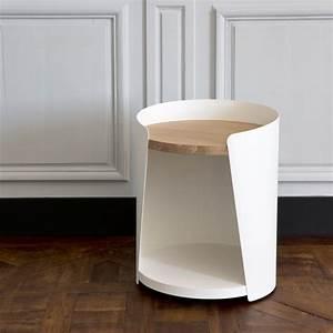 Table De Nuit Metal : table de nuit m tal bois design armand amobois ~ Carolinahurricanesstore.com Idées de Décoration