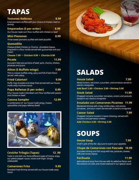 cuisine bistro restaurant casona restaurant