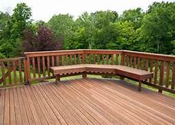 Backyard Decking Ideas For Our House Wonderful Wooden Backyard Serenity In The Garden Beautiful Outdoor Benches Complete A Garden LT Construction Wood Deck LT Construction Small Garden Bench Seat Garden Furniture TATE Fencing
