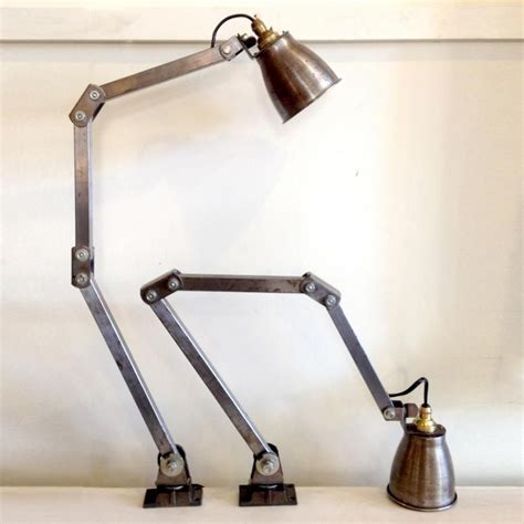 vintage anglepoise style wall lights ls luminaire