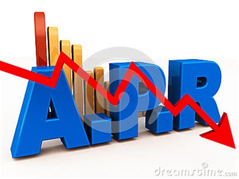 annual percentage rate stock  image