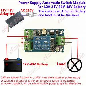 Dc 12v 24v 36v 48v Power Turn Off Battery Controller Power Supply Switch Module
