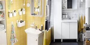 Douche Petit Espace : petites salles de bains ikea 6 inspirations qui ont tout bon marie claire ~ Voncanada.com Idées de Décoration