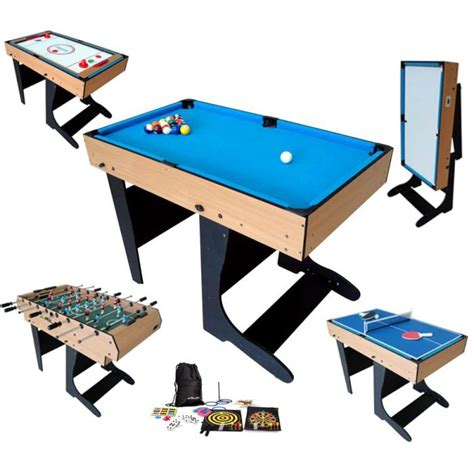 Billard Table Multi Jeux 21 En 1 Pliable  Achat Vente