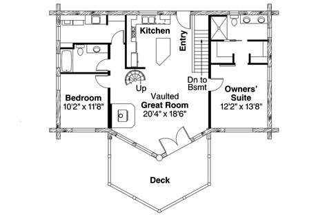 a frame cabin floor plans a frame house plans eagle rock 30 919 associated designs
