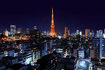 Minato Japan Roppongi Tokyo Night Tower Wallpapers