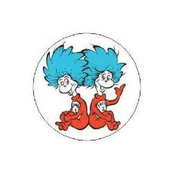 Dr. Seuss Thing 1 and Thing 2 Printable