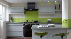tendance cuisine 50 exemples avec la couleur grise With idee deco cuisine avec cuisine gris et vert