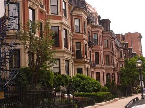 Row Houses; Boston, Ma  Oh, The Places You'll Go