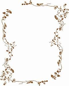 Large Floral Border Clip Art at Clker.com - vector clip ...
