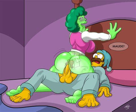 Pic Maude Flanders Ned Flanders The Simpsons Kogeikun Simpsons Porn