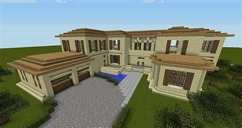 minecraft realistic mansion minecraft map