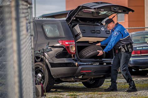 law enforcement truckvault mobile living truck  suv