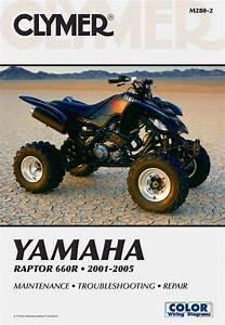 Yamaha Yfm660r Raptor 660r Atv  2001