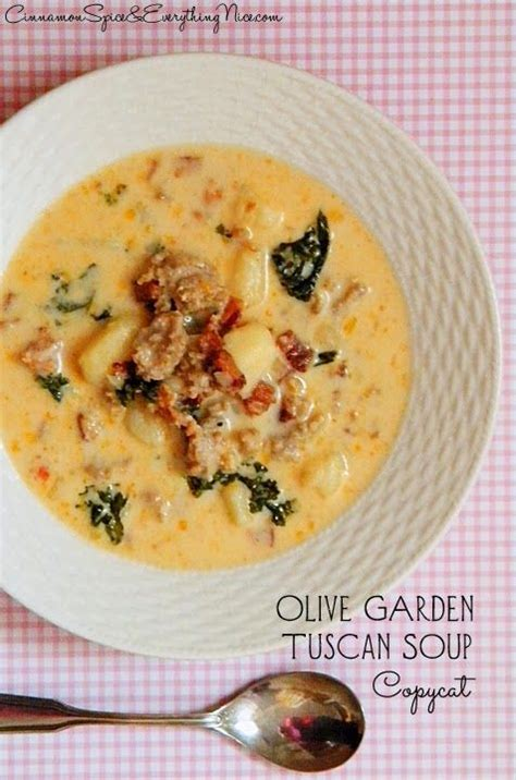 Olive Garden Kale Soup Recipe by Olive Garden S Tuscan Soup Miss Recipe Com Lighter