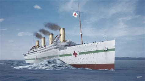 Britannic Sinking In Real Time by Britannic Sinking In Real Time 100 Images Hmhs