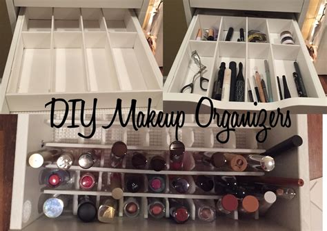 diy makeup drawer organizer diy makeup drawer organizers