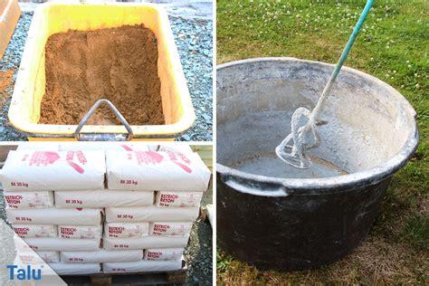 Wieviel Zement Und Kies/sand/splitt Werden Für 1 M³ Beton