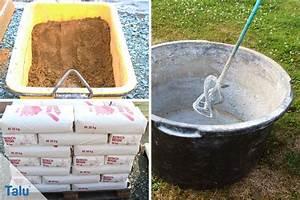 Beige Selber Mischen : wieviel zement und kies sand splitt werden f r 1 m beton ben tigt ~ Markanthonyermac.com Haus und Dekorationen