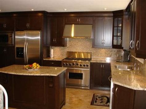 kitchen l shaped island matching kitchen cabinets and island the interior design