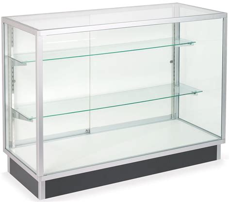 Glass Laminate Door Cabinets Four Foot Wide Display Cases