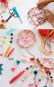 Idée Bricolage Déco : id es bricolage enfant comment fabriquer un attrape r ve ~ Premium-room.com Idées de Décoration