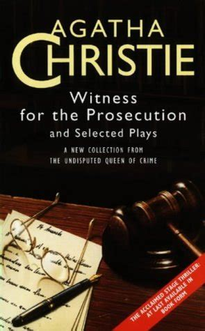 witness   prosecution  selected plays  agatha